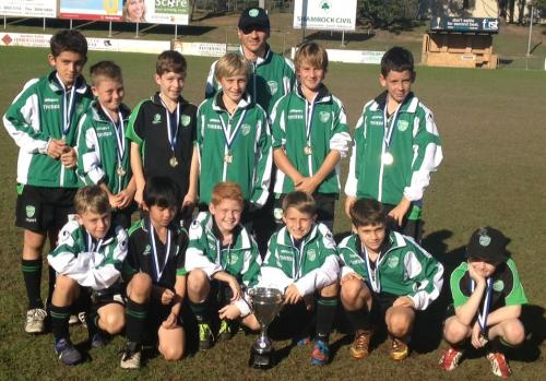 Under 11 Logan City Cup Team