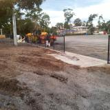 25 March 2015 - Concrete Slabs for Dugouts
