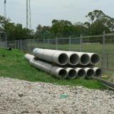 18 Dec 2014 - Drainage Pipes Start to Arrive