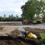 19 January 2015 - Perimeter drainage starts