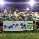 Sapphires - First win of the season 16 March