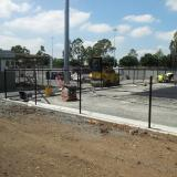 20 March 2015 - Shock Pad nearly complete on Fields 3 and 4
