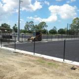 24 March 2015 - Shock Pad Work Continues on Field 2