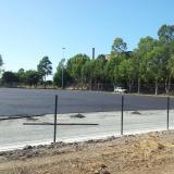 19 March 2015 - Shock Pad Layer and Fencing Progressing on Fields 3 and 4