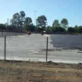 19 March 2015 - Shock Pad Layer on Fields 3 and 4 Progressing