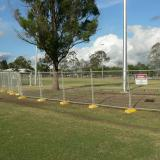 20 Nov 2014 - Temporary Fencing is Erected
