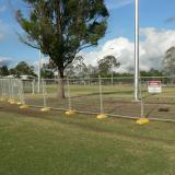 20 Nov 2014 - Temporary Fencing is Erected